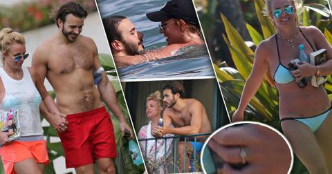 Britney spears charlie ebersol engagement ring hawaii