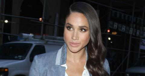 Meghan Markle has a costume change before going to The Today Show
