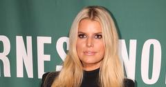 Jessica Simpson Wearing Black At Event