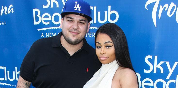 Blac Chyna and Rob Kardashian Host Memorial Day Weekend Party at Sky Beach Club at Tropicana Las Vegas