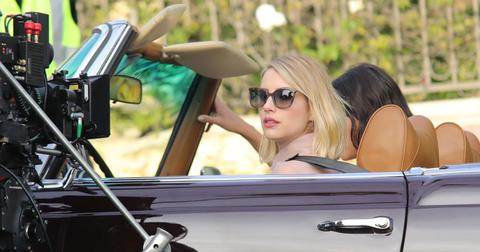 Emma roberts car scene post pic