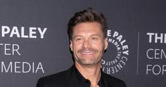 Ryan Seacrest Wearing Black
