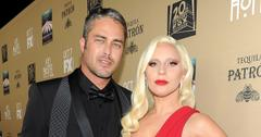 Glamorous Lady Gaga and Taylor Kinney share PDA on the red carpet