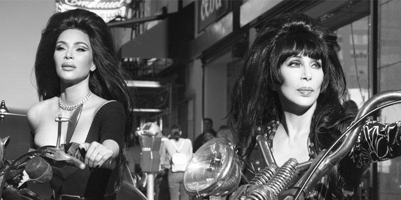 Kim Kardashian Poses With Cher & Naomi Campbell For 'CR Fashion Book'