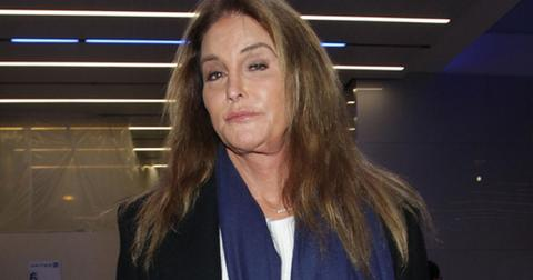 Caitlyn Jenner Catches A Flight At LAX