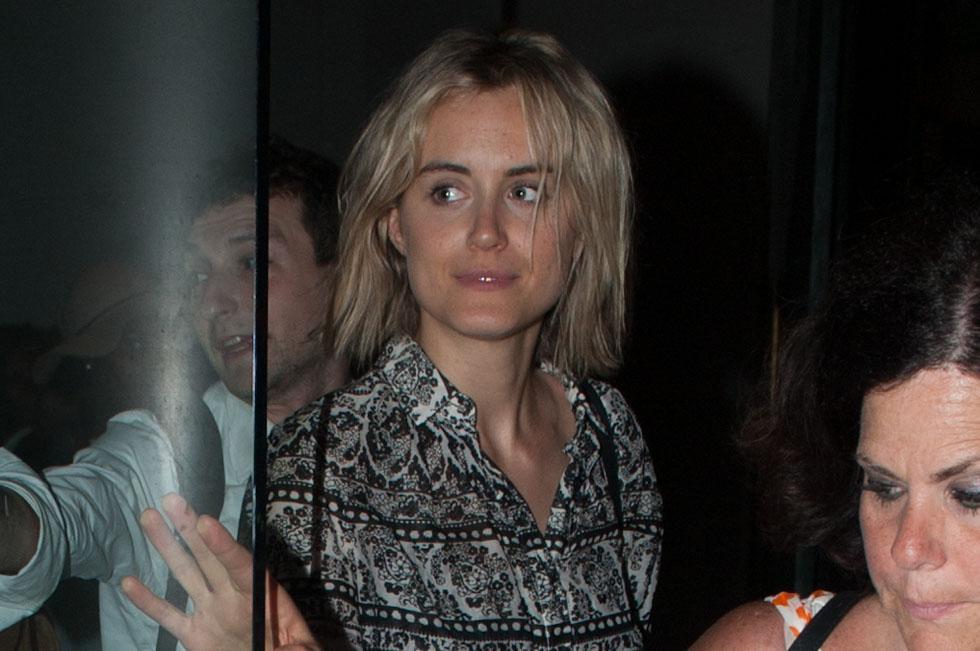 "Taylor Schilling leaves her secret screening the 3rd season of ""Orange is the New Black"""