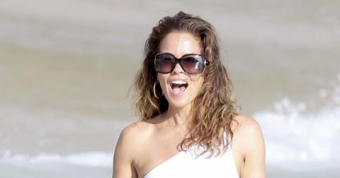 Brooke Burke Takes Her Family To 'Shell Beach' In France