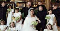 Meghan Markle Prince Harry Wedding Portraits Pics PP