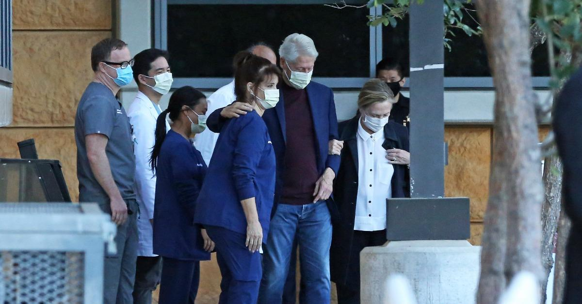 former president bill clinton released from hospital after sepsis scare