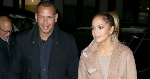 Jennifer Lopez and Alex Rodriguez look smitten as they head to dinner