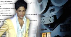 singer prince 911 call released