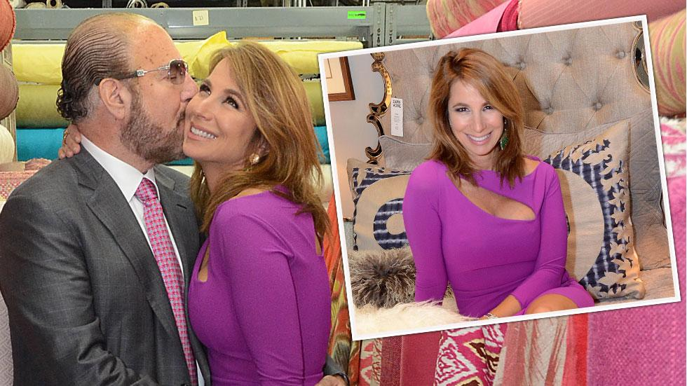 Jill zarin fabrics holiday party