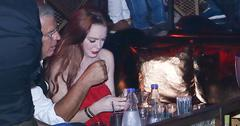 Lindsay lohan partying in greece mystery man main