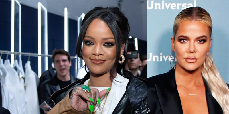 Rihanna and Khloe Kardashian