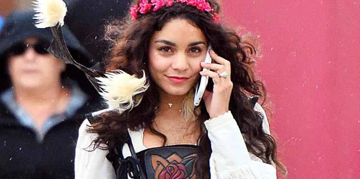 Vanessa hudgens renaissance fair outfit hr
