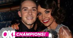 Dwts champs adam rippon jenna johnson reveal dwts secrets hero