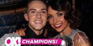 Dwts champs adam rippon jenna johnson reveal dwts secrets hero