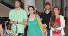 EXCLUSIVE: Jill and Jessa Duggar spotted Akron Airport with their husbands