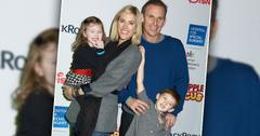 Kristen Taekman of The Real Housewives of New York and her children Kingsley and Cash and husband Josh Taekman attend the Hospital for Special Surgery's 8th Annual Big Apple Circus Benefit