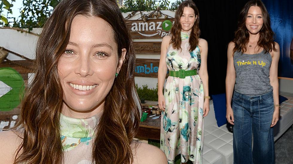 Jessica biel post baby body los angeles