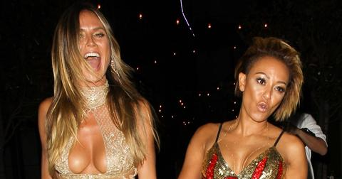 Heidi Klum and Mel B have a girls night at an After Party