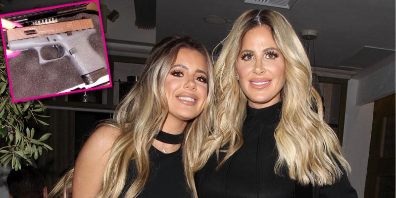 kim zolciak gives daughter brielle gun 21st birthday pp