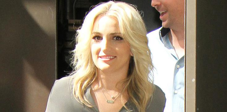Jamie Lynn Spears starts her day with The Today Show in NYC
