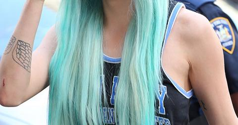 Amanda Bynes Blue Hair