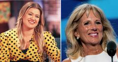 kelly clarkson to interview jill biden pp