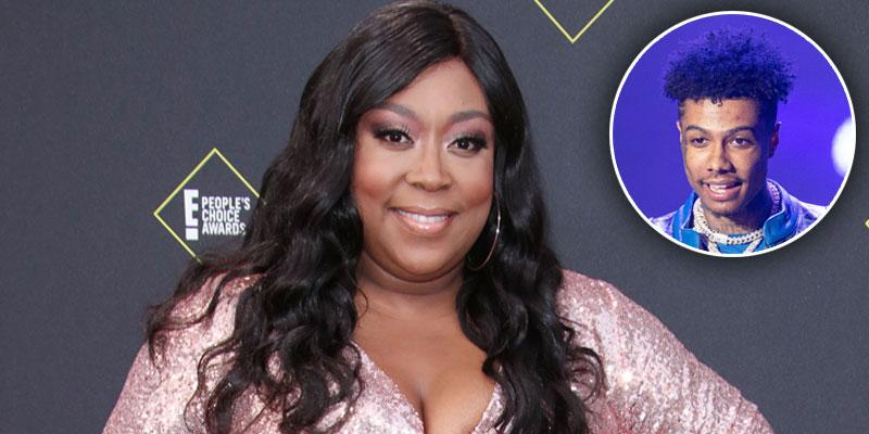 Loni Love Calls Out Blueface PP