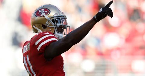 49er Marquise Goodwin Scores Touchdown After Baby Boy Death Long
