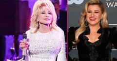 Dolly Parton Kelly Clarkson lean on me