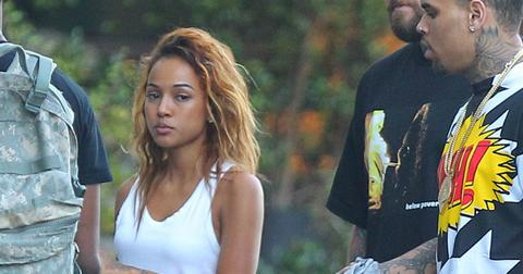 Karrueche tran chris brown restraining order 1