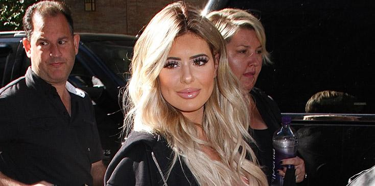 Kim Zolciak Biermann and daughter Brielle spotted leaving 'Good Day New York'