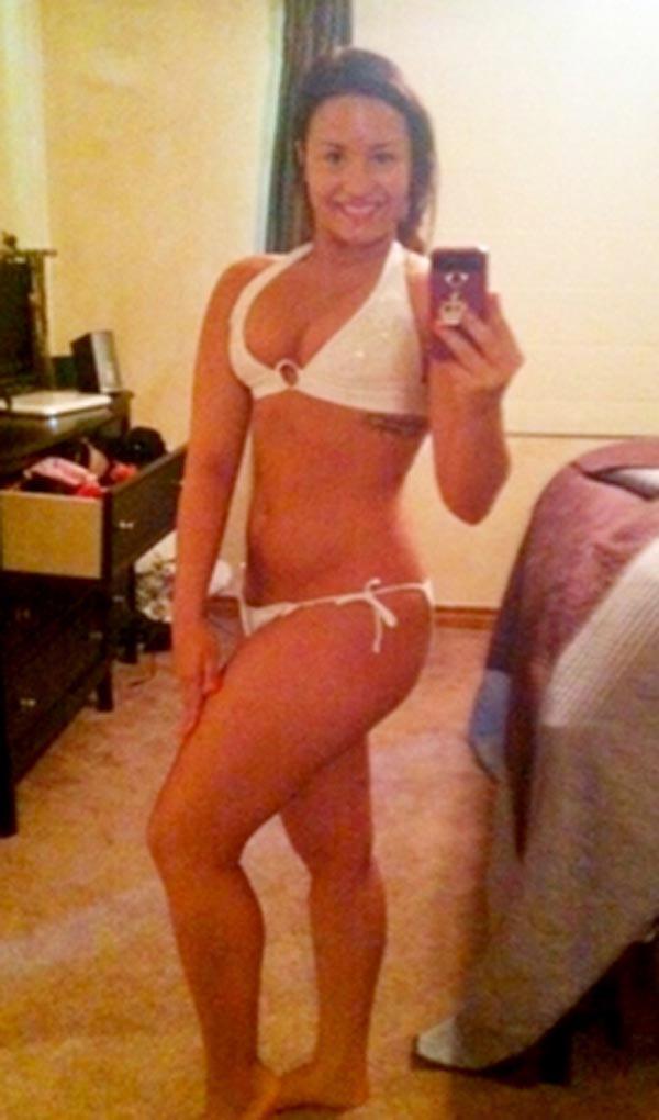 Demi lovato eating disorder bikini body