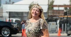 Carole Baskin at Dancing with the Stars - Rehearsal