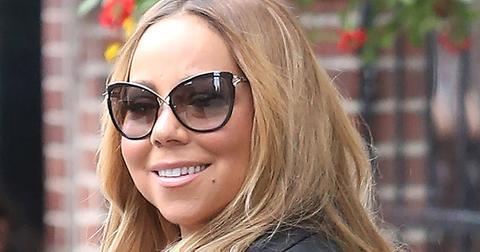 Mariah Carey leaving her hotel in New York City