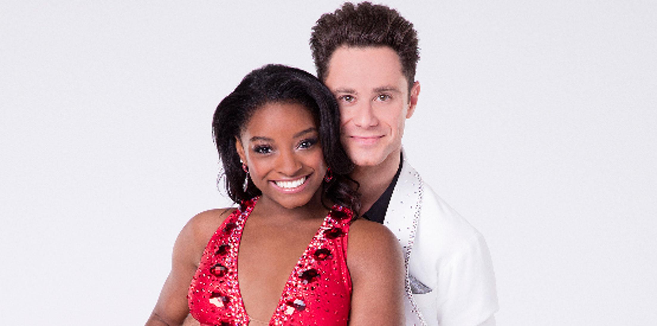 Simone Biles Dancing Stars Elimination Long