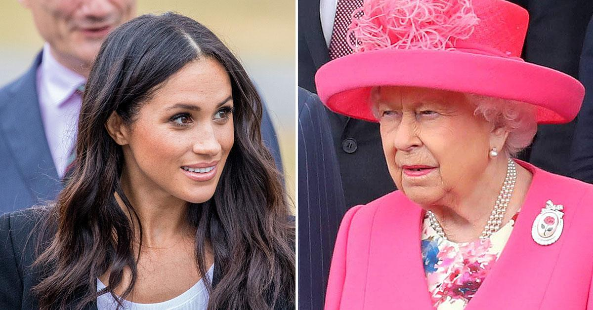 The Queen Enraged After Meghan Drops 'Markle' In An Effort To 'Sell The Royal Name