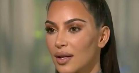 Kim kardashian stutters awkward cnn interview about trump meeting