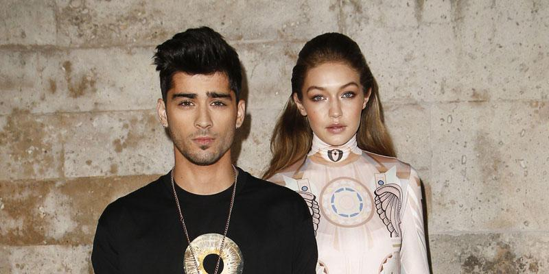 Gigi Hadid And Zayn Malik At An Event