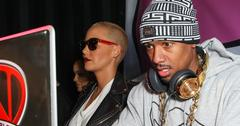 Nick Cannon and Amber Rose attend the 'Psych Ward Flagship Skate Shop' Grand Opening