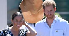 Meghan Markle Wearing $550 'Evil Eye' Necklace On Royal Tour