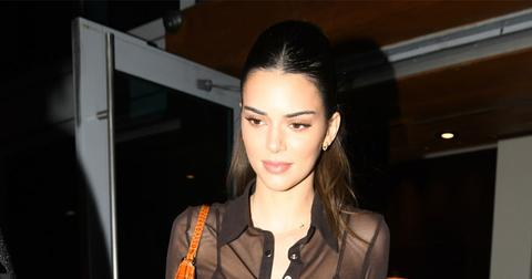 Kendall Jenner Attends Ex Ben Simmons' Basketball Game In Miami