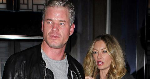 Eric Dane and Rebecca Gayheart enjoy dinner at Hakkasan