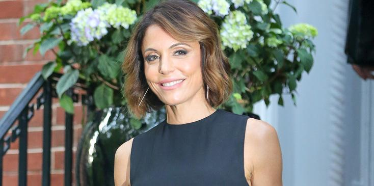 Bethenny Frankel seen having fun with snapchating photographers in New York City