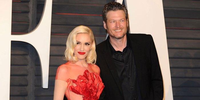 Gwen Stefani Blake Shelton Fake Romance