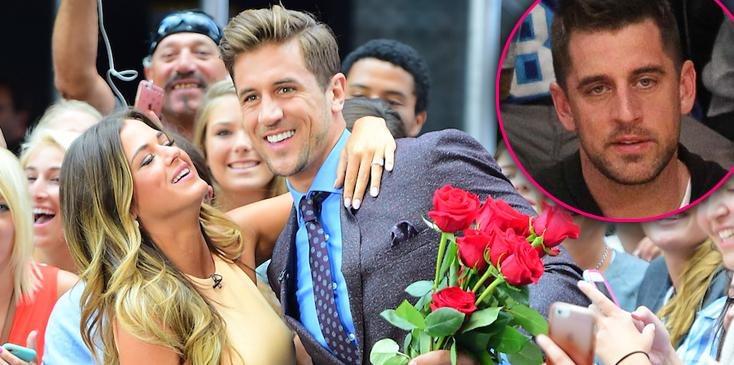 bachelorette jojo fletcher engaged jordan rodgers brother aaron