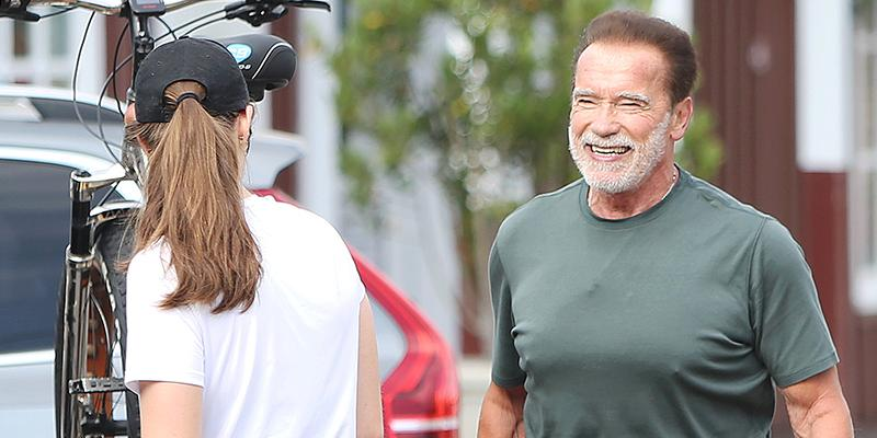 Arnold Schwarzenegger Celebrates Birthday As Patrick Has Wisdom Teeth Pulled