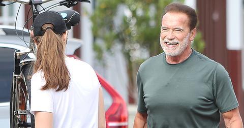 Arnold Schwarzenegger Celebrates Birthday As Patrick Has Wisdom Teeth Pulled